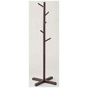 パール金属 木製ポールハンガーS ブラウン N-8282 N8282