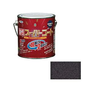 アサヒペン アサヒペン 油性スーパーコート 0.7L 銀黒 AP9011788