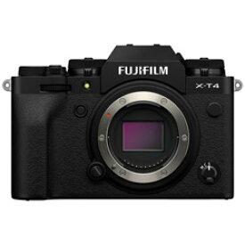FUJIFILM(フジフイルム) X-T4-B ミラーレス一眼カメラ ブラック [ボディ単体] FXT4B