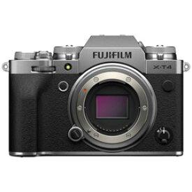 FUJIFILM(フジフイルム) X-T4-S ミラーレス一眼カメラ シルバー [ボディ単体] FXT4S