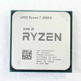 【中古】AMD(エーエムディー) Ryzen 7 3800X 〔3.9GHz/SOCKET AM4〕【291-ud】