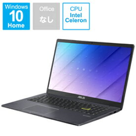 ASUS(エイスース) ノートパソコン ASUS E510MA スターブラックメタル E510MA-EJ200T [15.6型 /intel Celeron /eMMC:128GB /メモリ:4GB /2021年2月モデル] E510MAEJ200T