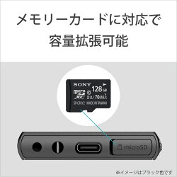 SONY(ソニー)ハイレゾウォークマンA100シリーズ16GBブラック[イヤホン無し]NW-A105BMNWA105BM