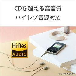 【11/02発売予定】ソニー(SONY)ハイレゾウォークマンA100シリーズ16GBアッシュグリーン[イヤホン無し]NW-A105GM(NWA105GM)