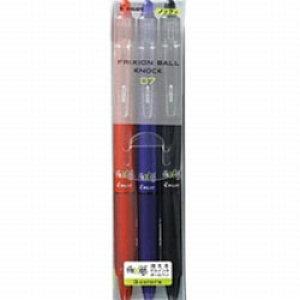 パイロット [ゲルインキボールペン] フリクションボールノック07 (消えるボールペン)(インキ色:3色セット) LFBK-69F-3C LFBK69F3C