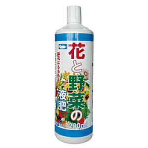 ヨーキ産業 花と野菜の液肥 1200ml 205748