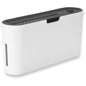 アスカ B03 電動シュレッダー Asmix ホワイト [クロスカット /A4サイズ] B03W