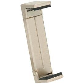 ベルボン タブレット/iPad対応[固定幅123〜210mm 厚み22mm以内] 三脚用タブレットホルダー「Luvipod(ラビポッド)」 TH1(サンディゴールド) LUVIPODTH1SG