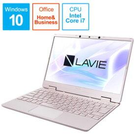 NEC LAVIE Note Mobile(NM750/RA サービスパック) PC-NM750RAG-2 メタリックピンク [12.5型/Core i7/メモリ8GB/SSD512GB/Windows10/Office付き] PCNM750RAG2