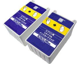 エコリカ 【リサイクル】 ECI-E06C2P (エプソン EP-IC5CL06W対応/リサイクルインクカートリッジ/カラー) ECIE06C2P
