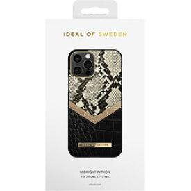 IDEALOFSWEDEN iPhone12/12 Pro ATELIER CASE 20SS MIDNIGHT PYTHON IDACSS20-I2061-199 ブラック IDACSS20I2061199