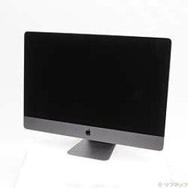 【中古】Apple(アップル) セール対象品 iMac Pro 27-inch Late 2017 MQ2Y2J/A Xeon_W 3.2GHz 32GB SSD1TB 〔10.14 Mojave〕【291-ud】
