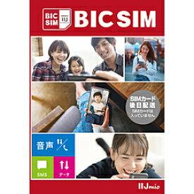 IIJ 【無料Wi-Fi付】BIC SIM ギガプランパッケージ(音声/SMS/データ共通) IMB330
