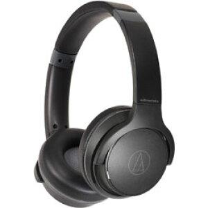 audio-technica(オーディオテクニカ) ブルートゥースヘッドホン ブラック ATH-S220BT BK [リモコン・マイク対応 /Bluetooth] ATHS220BTBK