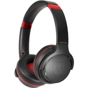 audio-technica(オーディオテクニカ) ブルートゥースヘッドホン ブラックレッド ATH-S220BT BRD [リモコン・マイク対応 /Bluetooth] ATHS220BTBRD