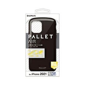 MSソリューションズ iPhone2021 6.1inch 2眼 ハイブリッド PALLETAIR LPIM21PLABK