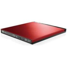 Logitec(ロジテック) 【Ultra HD Blu-ray対応】 LBD-PUD6U3LRD(レッド) ポータブルブルーレイドライブ [USB3.0・Win/Mac] 書き込みソフト付き LBDPUD6U3LRD