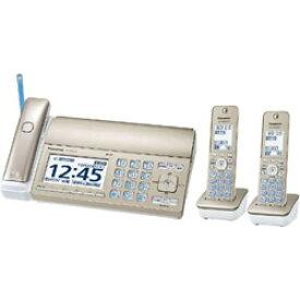 Panasonic(パナソニック) KX-PZ720DW-N FAX機 おたっくす シャンパンゴールド [子機2台 /普通紙] KXPZ720DWN