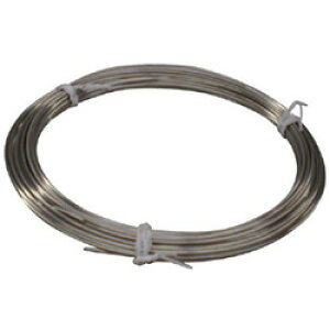 トラスコ中山 ステンレス針金 小巻タイプ 0.9mmX50m TSWS09 TSWS09