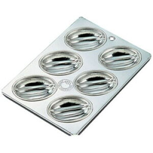 久保寺軽金属工業所 ブリキ マフィン型 メロン型 6カップ <WMH02> WMH02