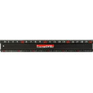 シンワ測定 65032 アルミカッター定規 カット師EX1m 65032