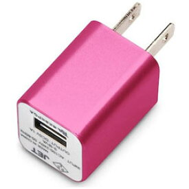 PGA WALKMAN/Smartphone用 USB電源アダプタ (ローズピンク) PG-WAC10A03PK PGWAC10A03PK