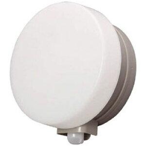 アイリスオーヤマ IRIS 乾電池式LEDセンサーライト ウォールタイプ 丸型 電球色 BOS-WL1M-WS BOSWL1MWS