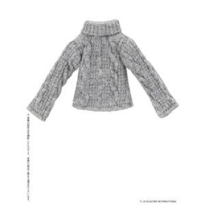 アゾンインターナショナル ピコニーモ用ウェア 1/12 フィッシャーマンズハイネックセーター グレー ドールウェア フィッシャーマンズHNセーターグレー