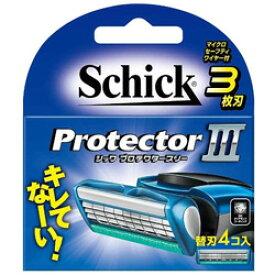 シック Schick(シック) プロテクタースリー 替刃4個入 〔ひげそり〕