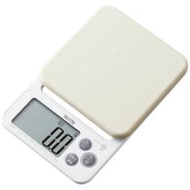 【在庫限り】 タニタ デジタルクッキングスケール (2kg) KJ-212-WH ホワイト KJ212WH [振込不可]