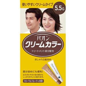 シュワルツコフヘンケル パオン クリームカラー 5.5G 濃いめの栗色〔カラーリング剤〕