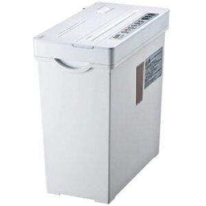 SANWA SUPPLY(サンワサプライ) クロスカットシュレッダー (A4サイズ/CD・DVD・カードカット対応) PSD-AW5534W (ホワイト) PSDAW5534W