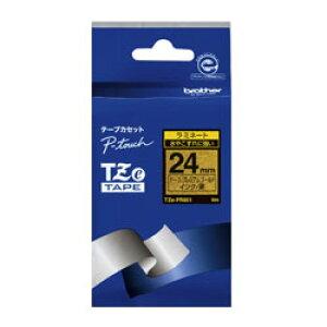 brother(ブラザー) ピータッチ(P-touch) おしゃれテープ プレミアムタイプ(プレミアムゴールド/黒文字/24mm幅) TZe-PR851 TZe-PR851 TZEPR851