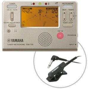 YAMAHA(ヤマハ) チューナー・メトロノーム マイク付き TDM-700GM ゴールド TDM700GM