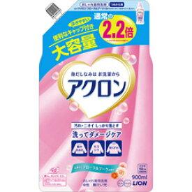 LION アクロン フローラルブーケの香り つめかえ用大(900ml)[衣類洗剤]
