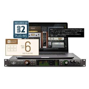 Universal Audio Thunderboltオーディオインターフェース[Mac/Win]プラグインライセンスバンドル APOLLO X8 / Custom 6 Upgrade APOLLOX8C6U