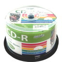 【ハイディスク HI DISC】HDCR80GP50 CD-R CDR 700MB データ用 50枚