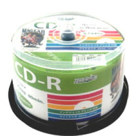 【ハイディスク HI DISC】ハイディスク HDCR80GP50 CD-R CDR 700MB データ用 50枚 磁気研究所