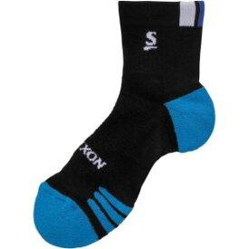 【ダンロップ DUNLOP】SRIXON(スリクソン) テニスソックス メンズハーフ SPO-6601 ブラック