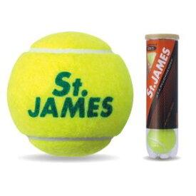【ダンロップ DUNLOP】ダンロップ DUNLOP 硬式 テニス ボール セント・ジェームス プレッシャーライズド ボール 4個入りボトル ST.JAMES