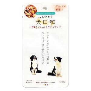 【わんわん】わんわん 犬日和レトルト 野菜が入ったとりぞうすい 60g