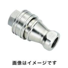 【日東工器 NITTO KOHKI】日東工器 NITTO KOHKI SPカプラ TypeA R1/8ソケット 3-9080-01 1S-A