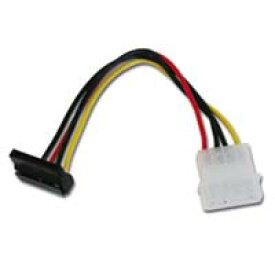 【アイネックス AINEX】アイネックス WA-085UA シリアルATA用電源変換ケーブル 上L型コネクタ AINEX