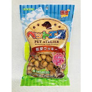 【ペットライブラリー】ペットライブラリー ペット工房 胚芽クッキー 乳酸菌3800億個入り 100g 犬 おやつ