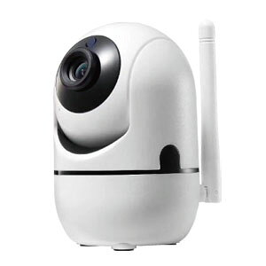 【輸入特価アウトレット】小型ネットワークカメラ Wi-Fi ライブカメラ 防犯カメラ 200万画素 ペット IPカメラ ベビーモニター 見守り