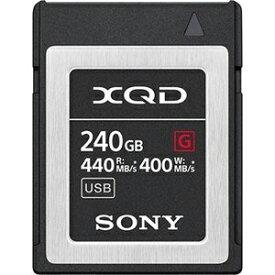 【ソニー SONY海外パッケージ】ソニー XQDカード 240GB QD-G240F