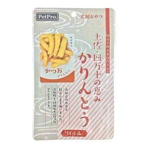 【ペットプロジャパン PetPro】ペットプロ 土佐 四万十の恵み かりんとう かつお 40g