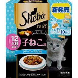 【マース MARS】マース シーバ デュオ 12ヶ月までの子ねこ用 クリーミーミルク味 200g