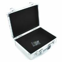 【SK11】アルミケース 280×230×95mm AT-10S DIY 工具箱 ホビーケース アタッシュケース