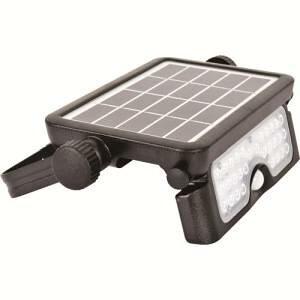 【日動工業 NICHIDO】日動工業 SOL-5PIR-60K ソーラーLEDセンサーライト エコフラッシュミニ5W